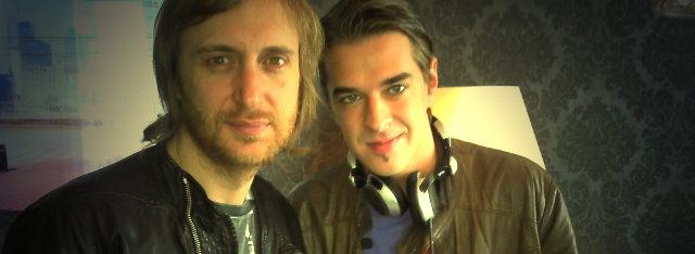 David Guetta und DJ Sandy